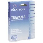 Data Cartridge Travan Tr3 - Compres 3.2gb/ Un Compres 1.6GB 1-pk