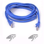 Patch Cable - Cat5e - utp - Snagless - 3m - Blue