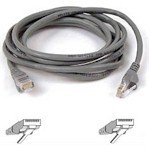 Patch Cable - Cat5e - Utp - Snagless - 3m - Grey