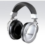 Headphone TD85 - Stereo - 3.5mm - Black / silver