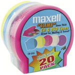 Cd/DVD Jewel Cases 5mm Color 20-pk