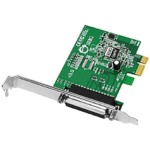Dp Cyberparallel Pci-e - 1-port Dual Profile Ecp/epp High-speed Parallel Pci-e Adapter