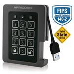 Padlock USB SSD 240GB Encrypted FIPS Ruggedized