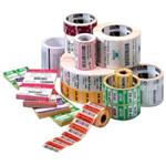 Z-select 4000t, Labels (2.25 Inch X 1.25 Inch, 2100 Labels/roll), Single Roll