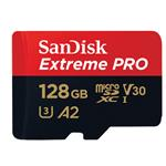 Micro SDXC Extreme Pro 128GB C10, U3, A2, V30 170mb/s Read 90mb/s Write