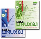 Suse Linux (v8.1) Personal Ed With English Manual And Support
