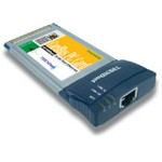 Ethernet Cardbus Pcmcia 10/100mbps 32-bit With Xpress Port