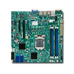Motherboard X10SL7-F C222 DDR3 UATX 2XGBE 8XSAS VGA IPMI