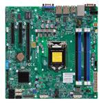 Motherboard X10SLL-F C222 32GB DDR3 UATX 2XGBE 6XSATA VGA IPMI
