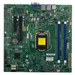 Motherboard X10SLL-S C222 16GB DDR3 UATX 2XGBE 4XSATA VGA