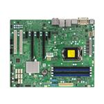 Motherboard X11SAE C236 DDR4 ATX DVI 2XGBE 8XSATA3