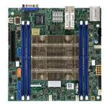 Motherboard X11SDV-12C-TLN2F - mini ITX - Intel Xeon D-2166NT