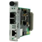 Media Converter Gigabit Ethernet 1000bt Rj-45 100m To 1000bsx 850nm Mm Sc 220m