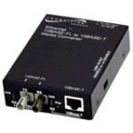 Media Converter 10bt Rj-45 100m To 10bfl 1300nm Multimode St 5km