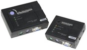 KVM Extender Ps2 Up To 150m Cat5 Cable Enhanced Performance