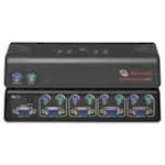 Switchview Pc 4 Port Ps/2 System/console