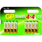 Gp Super Alkaline Battery Aa 8-pack Blister/ 1.5v Lr06
