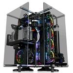 Core P90 Midi-Tower Black / Transparent