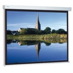 Projection Screen Compact  Rf Electrol 213x280 Cm. Matwhite S