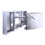 Pull-out Swivel Wall Mount For 26-50in LCD Silver