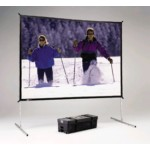 Fast-fold Deluxe Screen System Dual Vision