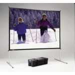 Fast-fold Deluxe Screen System 69x120in Da-mat