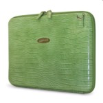 Women Techstyle Portfolio Faux-croc 14.1in Green
