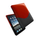 iPad Luxe Case Red/black
