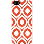 iPhone 5 White Case Elm Bold Orange