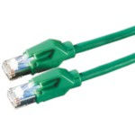 D-twyler S/stp Cable CAT6 5m Green