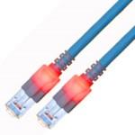 Patch cable - CAT6 - S/ftp - 3m - Blue