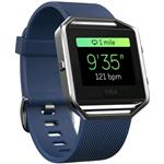 Fitbit Blaze Hr Activity Tracker Blue Large