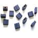 Jumper Cap 2mm Mini For Scsi Hard Drives 100-pk