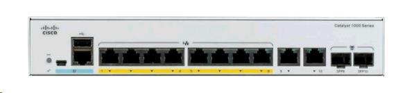 CISCO SYSTEMS Catalyst 1000 8 Port Ge 2x1g Sfp - C1000-8T-2G-L -  Redcorp.com/en