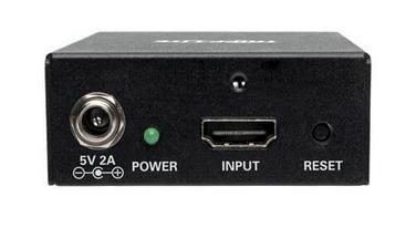 HDMI Splitter, 2-Port 4K 3D HDMI 2 0, HDCP 2 2, Ultra HD 4K x 2K  Audio/Video, 3840 x 2160 @ 60 Hz, TAA
