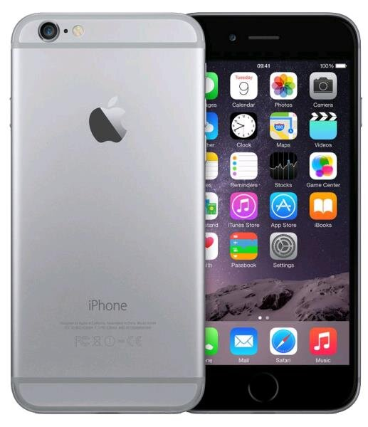 iphone 6 grey and black