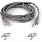 Patch Cable - Cat5e - utp - Snagless - 50cm - Grey