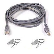 Patch Cable - CAT6 - utp - Snagless - 2m - Grey