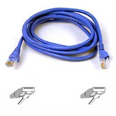 Patch Cable - CAT6 - utp - Snagless - 3m - Blue