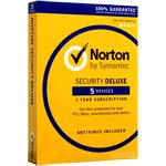 Norton Security Deluxe (v3.0) 1 User 5 Devices 12 Months Card
