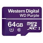 WD Purple mircoSD 64GB UHS Speed Class 10 UHS Speed Class 1 (U1)