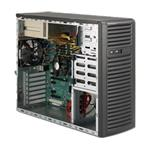 Superchassis 732i-r500b 4x3.5in Sas/SATA 2x5.25in 500w Redundant Mid Tower