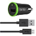 Universal Smartphone Car Charger 1a Black