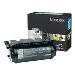 Toner Cartridge T630/ T632/ T634 High Yield Return  Programme 21k Pages Black (12a7462)