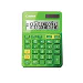 Calculator Ls-123k 12-digit Metallic Green