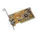 Firewire Adapter 3 Port (2-ext 1-int) 1394 Pci