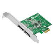 Dual Profile Pci-e 2-port ESATA 6GB/s Host Adapter