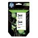 Ink Cartridge No 344 (2 Pack) 3-clr 14ml