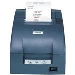 Tm-u220b Color Receipt Printer - Dot Matrix - 76mm - Wi-Fi - Cutter, Black