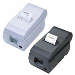Tm-u220d - Receipt Printer - Dot Matrix - 76mm - USB / Parallel - Grey